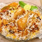 biryani rice - Chicken