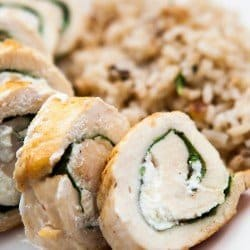Chicken Cheese Rolls