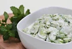 Cucumber And Yogurt Salad