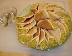 Qatayef with cream