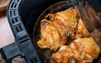 Air Fried Chicken with Lemon and zaatar